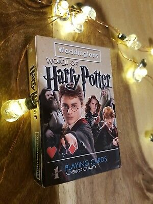 💖💖 Harry Potter Waddingtons Number 1 Playing Cards 💖💖
