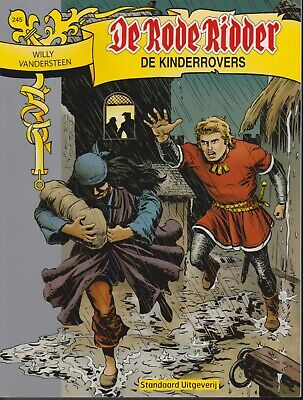 Strip De Rode Ridder Willy Vandersteen 245 DE KINDERROVERS