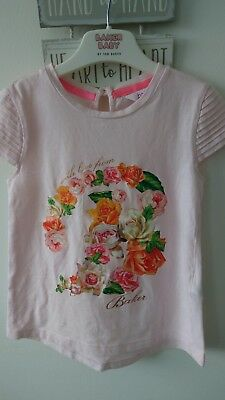 Baker girls top tshirt outfit 4-5 years great condition
