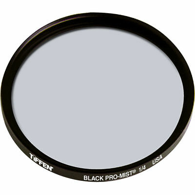 New Tiffen 77mm Black Pro-Mist 1/4 Glass Filter MFR # 77BPM14 Free Shipping