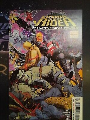 BLACK PANTHER 4 PASQUAL FERRY COSMIC GHOST RIDER VARIANT NM