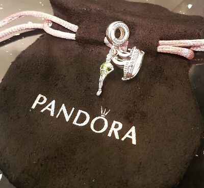 Authentic Pandora Disney Peter Pan With Jolly Roger Ship 2018 Charm (With Pouch)