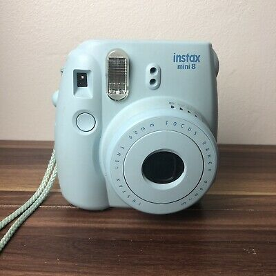 Fujifilm Instax Mini 8 Blue Instant Film Camera