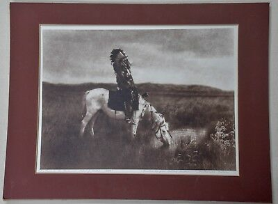 """""""Oasis in the Badlands"""" EDWARD CURTIS Smithsonian Edition by Jean Antony Du Lac"""