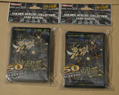 YuGiOh! | 2x Yu-Gi-Oh! Golden Duelist Collection packs (100 Card Sleeves) | New