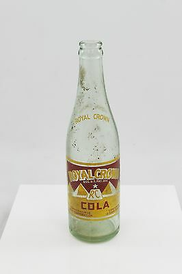 Antique Royal Crown Cola Vintage Glass Soda Bottle