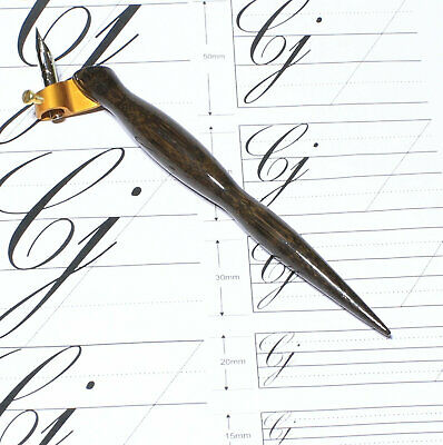 Oblique Calligraphy Dip Pen Fits Standard Calligraphy Nibs Durable Bamboo Holder