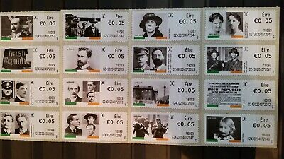 Stamps Ireland Selection~EIRE~Selection 2016 complete Set~16~Comm's/~UM/MNH