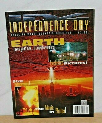 Independence Day - Movie Souvenir Magazine  1996