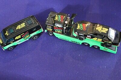 RARE Matchbox Petty Days of Thunder Transporter Van Car Nascar diecast Kenworth