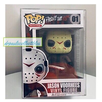 Funko Pop! Movies: Friday the 13th JASON VOORHEES (01) Vinyl Figure W/Protector
