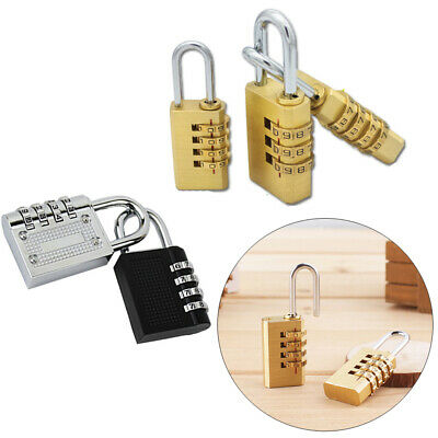 Luggage Security Tool Code Dial Combination 3/4 Digit Password Lock Zinc Alloy