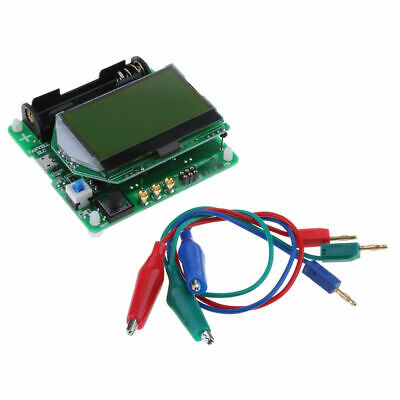 CN_ LCD M328 MOSFET ESR Meter Transistor Tester LCR Capacitance with Test Clip