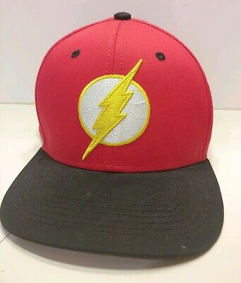 size 40 28779 4aa89 The Flash Dc Comics Original Snapback Hat Cap Embroidered Logo Patch Photo  Bill
