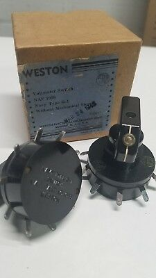 Weston Voltmeter Switch Navy type G-1