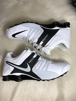 cheap for discount 65cc9 82b19 Nike Shox Current Men s Size 11 Gray Grey White Black Running Sneakers
