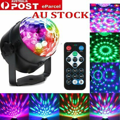 Mini RGB LED Laser Projector Light DJ Club Disco KTV Party Bar Stage Bulb Lamps
