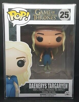 Funko Pop + Protector! Daenerys Targaryen with Whip - Game of Thrones #25 *MINT*