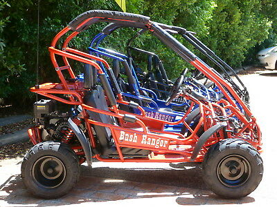 BUSH RANGER 200cc 4 STROKE BUGGY, GO KART, AUTOMATIC ELEC START QUAD ATV.