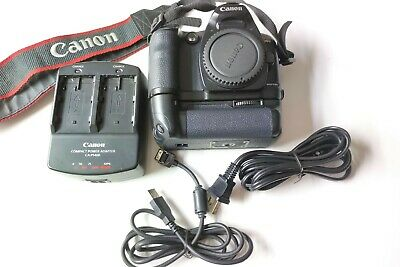 Canon EOS D60 6.3MP Digital SLR Camera w/Dual Charger + Batteries and Grip