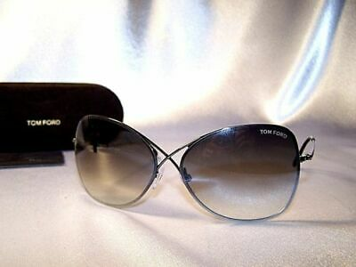 3778b1eb66cbb Tom Ford Colette TF250 08C FT0250 Grey Butterfly Sunglasses New w case