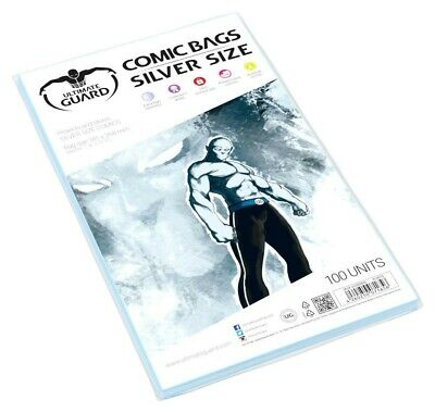 Ultimate Guard : Comic Bags - Silver Size (100 Stück)