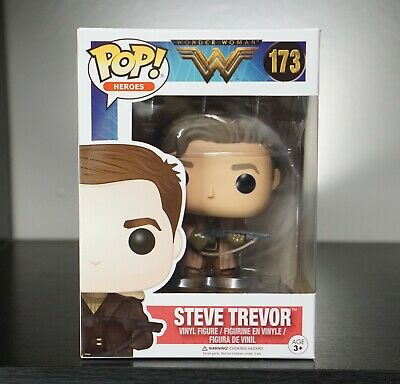 Funko POP VINYL Wonder Woman Steve Trevor #173 - *AUS SELLER*