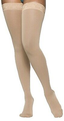 Sigvaris 863NMLW Select Comfort Thigh High Closed Toe Pantyhose 30-40 mmHg Sz ML