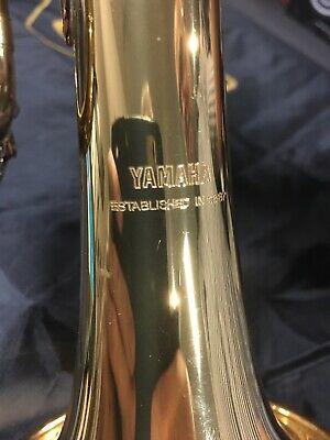 Yamaha trumpet YTR1335 Pre Loved and fully refurbished in deluxe owners case