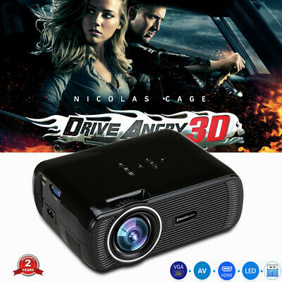 Excelvan Mini Projecteur Multimedia LCD LED Projector 3000 lumens Home theater