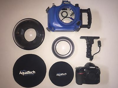 Aquatech NB800 Housing + Lens Ports  + Nikon D800 and accessories
