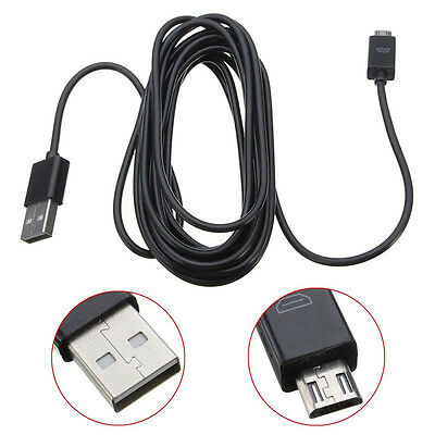 1x 3m USB Charger Cable For Sony Playstation 4 PS4 Controllers Charging Cords AU