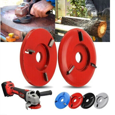 Bore Red Wood Carving Disc Angle Grinder Attachment For Tool Angle Grinder