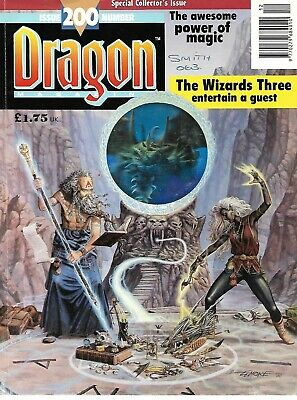 TSR - Dragon magazine #200 - UK issue - December 1993 - Special issue