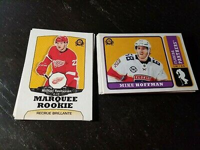 2018-19 O-PEE-CHEE OPC Update Base+Marquee Rookie Retro Lot 12 See List No Dups