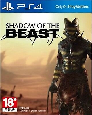Shadow of the Beast HK Chinese/English subtitle Version PS4 PreOwned