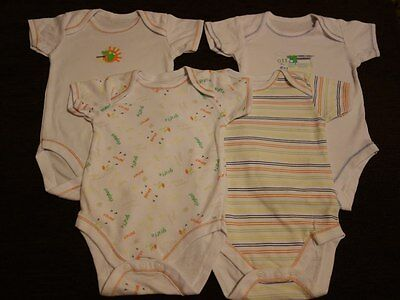 Boys' Unisex Girls' 3 Pack Bodysuits 3-6 Months NEW out of Pack