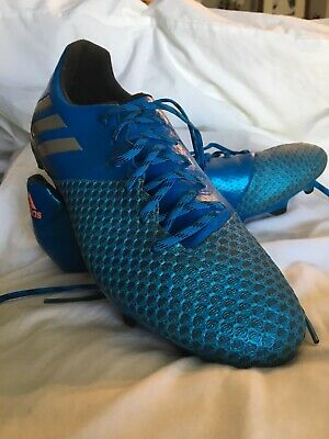pretty nice f2395 60362 adidas Original Men s Soccer Messi 16.2 FG Cleats  Blue Matte Silver Core Sz  8.5