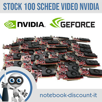 STOCK 100 SCHEDE VIDEO Nvidia GeForce 310 DMS59 512mb 89Y9227 Low Profile PCI-E