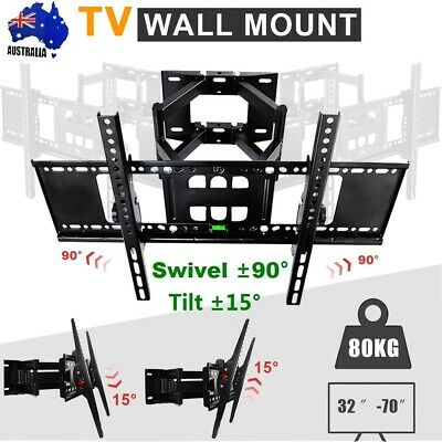 "32""-70"" inch 80kg TV Wall Bracket Mount Tilt Swivel Samsung Sony LG JVC TCL TEAC"