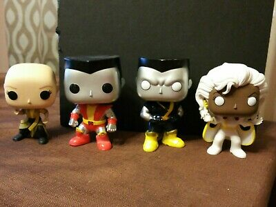 Funko Pop - Marvel Lot - Ancient One, Colossus x2 and Storm OOB LOOSE