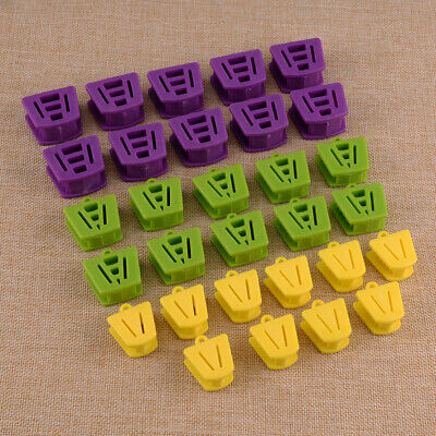 10Pcs Silicone Dental Bite Block Retractor Mouth Opener Props Cushion 3 Sizes