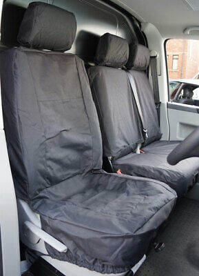 Volkswagen Transporter T4 T5 T6 Fully Tailored Waterproof Heavy Duty Seat Covers