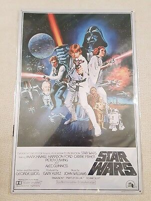 DeAgostini Star Wars Helmet Collection A New Hope Film Poster Metal Tin Print