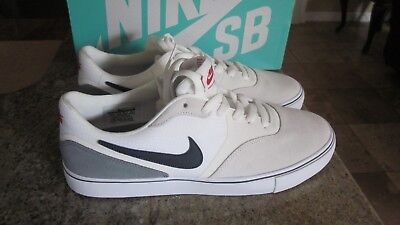 size 40 f67ff 99311 New Nike Sb Paul Rodriguez 9 Vr Skateboard Men Shoes White Size 9.5