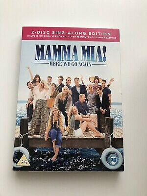 Mamma Mia! Here We Go Again - 2 Disc Sing-Along Edition - Dvd - New