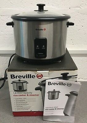 Breville Rice Cooker & Steamer Fully Working With Box