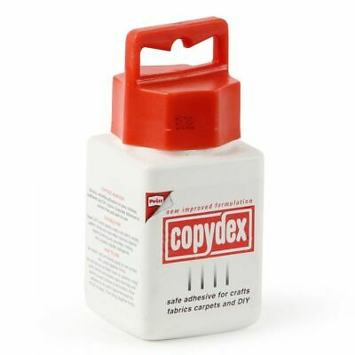 Copydex Bottle Adhesive - 125 ml [Energy Class A] EASY USE UK STOCK STRONG