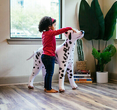 "Jet Creations Inflatable Dalmatian Dog 36"" Tall Stuffed Animals Party Supplies"