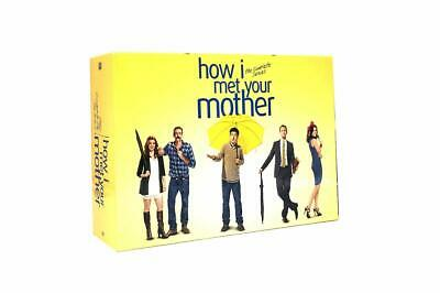 HOW I MET YOUR MOTHER: THE COMPLETE SERIES 28 DVD Set New Free Shipping
